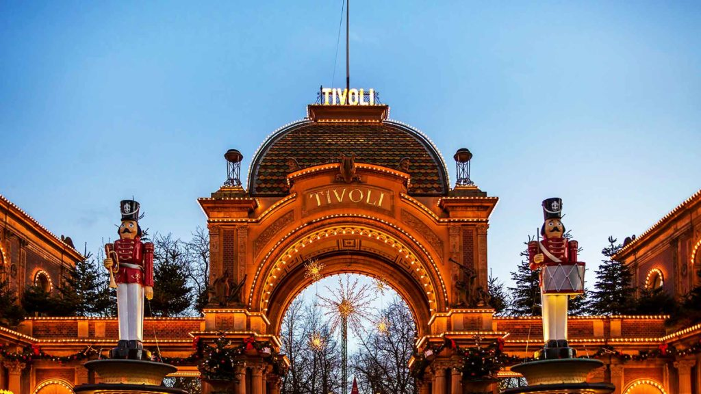 Tivoli i hjertet af København - Indgangen